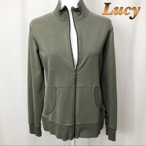 Lucy Camo Green 2 Pocket Jacket  LG
